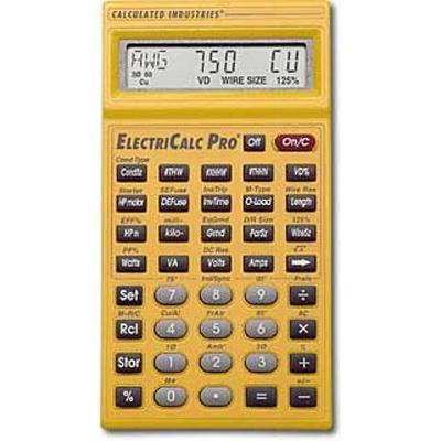 Electri-Calc Pro™