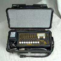 Pocket Console™ in Pelican™ Hard Case - Black