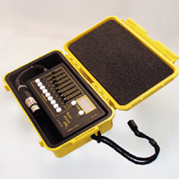 Pocket Console in Yellow Pelican case